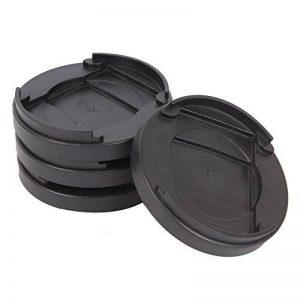 1cm Lit rond Bouchon meubles Bouchon plastique antidérapant Patins pour sols durs de la marque Alicebeauty image 0 produit