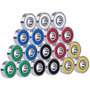 18 Pièces 608 2RS Roulements à Bille Remplacement pour Hand EDC Toy, Multicolor de la marque eBoot image 0 produit
