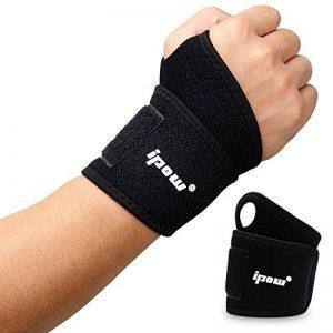 [ 2 PCS ] Ipow Wrist Wraps / Bandage Protection de Poignets / Serre-poignets soulager la douleur, Unisex, Convient toutes sortes de Sports de la marque ipow image 0 produit