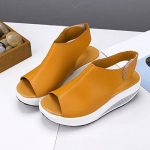2018 Nouvelles sandales de femmes,GreatestPAK Bohême Chaussures à talons hauts Summer Shake Fond épais de la marque GreatestPAK_Chaussures image 4 produit