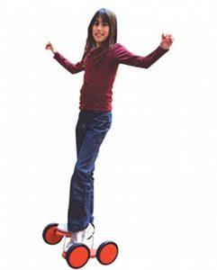 4 roues acrobatiques rouge (pedal go) de la marque Passe-Passe image 0 produit