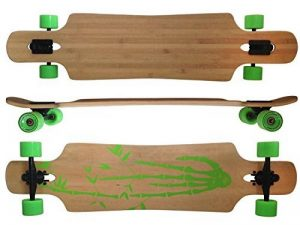 42,5x10 Deluxe Longboard MAXOfitBamboo Race No. 4, 107 cm, Drop Through de la marque MAXOfit image 0 produit