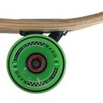 42,5x10 Deluxe Longboard MAXOfitBamboo Race No. 4, 107 cm, Drop Through de la marque MAXOfit image 4 produit
