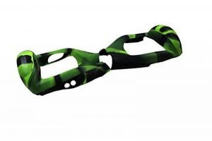 """6,5"""" Housse/Coque De Protection En Silicone Pour Hoverboard Segway 2 Roues, Cool&Fun Coque Anti-rayures Etanche, Camouflage Vert et Noir de la marque Cool&Fun image 0 produit"""