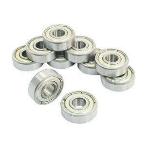 608ZZ double métal Shields Deep Groove Roulements à billes 8x 22x 7mm 10pcs de la marque Amico image 0 produit