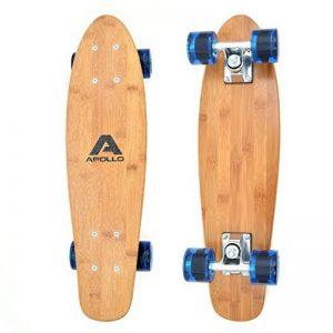 Apollo Fancy Board - Vintage Cruiser , Board complet | Taille: 22.5'' (57,15 cm) | Skateboard: petit et maniable| différentes couleurs de la marque Apollo image 0 produit
