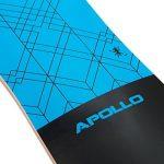 Apollo Longboard édition spéciale board complet y inclus outil en forme de T, avec roulements à billes ABEC High speed, Drop-Through Freeride Skaten Cruiser Boards de la marque Apollo image 3 produit
