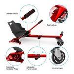 """Auto-équilibrage hovercart go voiture siège hoverkart pour 6.5 """"8"""" 10 """"auto-équilibrage scooter de la marque GizmoVine image 2 produit"""