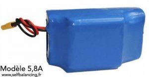 Batterie Française 36V 5,8A-209W/h pour gyropode , hoverboard, skate électrique,testée et identifiée de la marque selfbalancing.fr image 0 produit