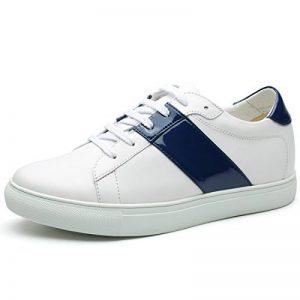CHAMARIPA Chaussures Décontractée rehaussante Cuir Lacer Sneakers Hommes - Plus Grand DE 6 cm - H72C55K121D de la marque CHAMARIPA image 0 produit