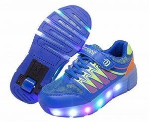 Chaussures à Roulettes, WINNEG Baskets Enfants USB Rechargeable Lumineuse avec Roue pour Garçons et Filles de la marque WINNEG image 0 produit