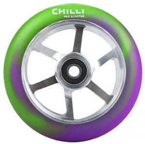 Chilli Roue Violet/Vert 110 mm de la marque Chilli image 0 produit