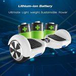 Cool&Fun 6,5 pouces Hoverboard Self Balance Scooter Smart Skateboard Auto-équilibrage Électrique Gyropode 2x350W de la marque Cool&Fun image 4 produit