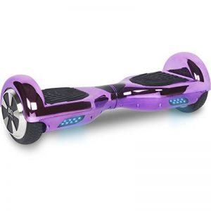 Cool&Fun Hoverboard 6,5 pouces Chromé Smart Scooter Skateboard Électrique Gyropode 2x350W de Boutique GyroGeek de la marque Cool&Fun image 0 produit