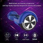Cool&Fun Hoverboard 6,5 pouces Smart Scooter Skateboard Électrique Gyropode 2x350W de Boutique GyroGeek (Bleu) de la marque Cool&Fun image 3 produit