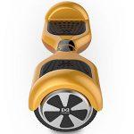 Cool&Fun Hoverboard 6,5 pouces Smart Scooter Skateboard Électrique Gyropode 2x350W de Boutique GyroGeek (Or) de la marque Cool&Fun image 1 produit