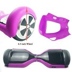 Coque de protection à 180 ° en silicone pour hoverboard et trottinette électrique à deux roues de 16,5 cm de la marque YLY-EU image 1 produit