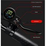 DAHEMA Trottinette Électrique E-Scooter Pour Adultes Hauteur Réglable Avec Siège-Alliage Acier,Dure 25Km,Maximale Vitesse 20KM/H(Noir) de la marque DAHEMA image 3 produit