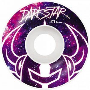 Darkstar Jeu de 4 Roues de Skateboard Mystic Pourpre Blanc 51mm de la marque Darkstar image 0 produit