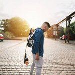 Deck Hook Professional Skateboard, Longboard & Electric Skateboard Holder Carrier | Universally Compatible With Any Dual Shoulder Strap Backpack | Adjustable Straps& Hands Free Use de la marque Deck Hook image 1 produit
