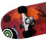 Deuba Planche à roulettes Skateboard - Atlantic Rift - Roues ABEC 7 - Modèle au choix de la marque Deuba image 2 produit