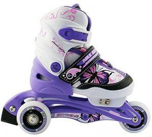 Enfants rollers Patins à roulettes, 2en 1, Taille réglable NJ 9128A Nils de la marque NILS image 0 produit
