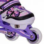 Enfants rollers Patins à roulettes, 2en 1, Taille réglable NJ 9128A Nils de la marque NILS image 4 produit