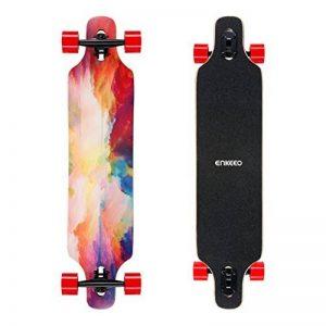 """ENKEEO Longboard Multicolore 41"""" pour la Sculpture de Descente Croisière Freestyle de la marque ENKEEO image 0 produit"""