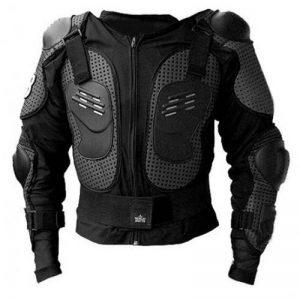 Équipement de protection pour moto - Veste avec plastron et protection dorsale - Taille L - Pour vélo, quad, moto, motocross de la marque HUKITECH image 0 produit