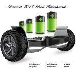 """EVERCROSS Hoverboard Challenger Basic 8,5"""" Gyropode Tout-terrain Smart Skateboard Électrique de la marque EVERCROSS image 3 produit"""