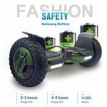 """EVERCROSS Hoverboard Phantom 10"""" Skateboard Éléctrique Batterie Samsung Smart Scooter Contrastes Couleurs Gyropode Auto-équilibrage avec Bluetooth de Boutique GyroGeek de la marque EVERCROSS image 4 produit"""