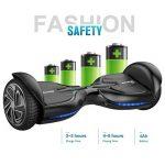 """EVERCROSS Q3 Hoverboard électrique 6,5"""" Skateboard électrique Gyropode Certifié norme de la marque EVERCROSS image 2 produit"""