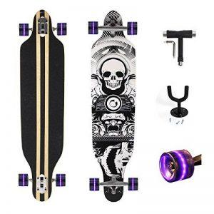 "Feldus 41"" Skateboard Longboard en bois d'érable 70*50mm avec T-Tool et crochet mural de la marque Yorbay image 0 produit"