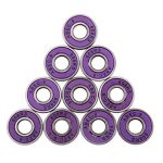 fityle 10pcs de roulement ABEC 9608RS série 608pour skateboard Patins à roulettes Rollers de la marque FITYLE image 1 produit