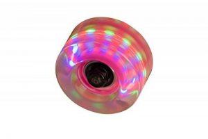 Flashing Light Up Lot de 4 roues de rollers Clear Pink de la marque SFR image 0 produit