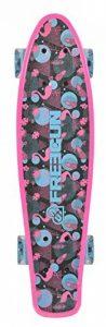 "Freegun Miss 22, 5"" avec Roues Lumineuses Skateboard Fille, Rose de la marque Freegun image 0 produit"