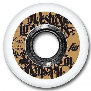 FreeWheeling 4-Pack Roues de roller, Skateboard Aggressive 57mm 90A 1117549 de la marque FreeWheeling image 0 produit