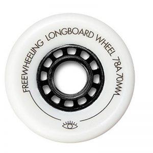 FreeWheeling lot de 4 roues Longboard wheels 70 mm 78A pour Square/Skateboard/Cruiser Slide - Cruising et downhill - COD. 1117609 de la marque FreeWheeling image 0 produit