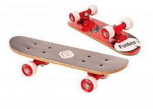 Funbee OFUN247R - Mini Skate Erable - 17 pouces - Rouge de la marque Funbee image 0 produit