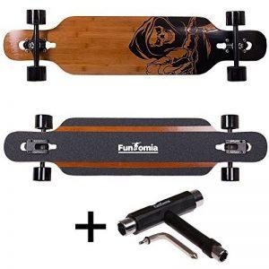 FunTomia Longboard / Érable canadien 9 Plis / charge max 110 kg / Roues 70x51mm / Roulements Planche à roulettes Mach1 de la marque FunTomia image 0 produit