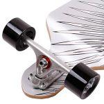 FunTomia Longboard / Érable canadien 9 Plis / charge max 110 kg / Roues 70x51mm / Roulements Planche à roulettes Mach1 de la marque FunTomia image 2 produit