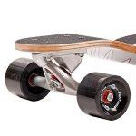 FunTomia Longboard / Érable canadien 9 Plis / charge max 110 kg / Roues 70x51mm / Roulements Planche à roulettes Mach1 de la marque FunTomia image 3 produit
