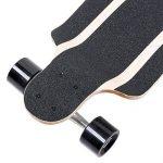 FunTomia Longboard / Érable canadien 9 Plis / charge max 110 kg / Roues 70x51mm / Roulements Planche à roulettes Mach1 de la marque FunTomia image 4 produit