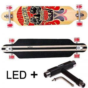 funtomia® Longboard Skateboard skaten Cruiser Longboard complet avec Mach1® High Speed outil de roulement T de la marque FunTomia image 0 produit