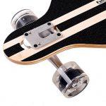 funtomia® Longboard Skateboard skaten Cruiser Longboard complet avec Mach1® High Speed outil de roulement T de la marque FunTomia image 3 produit