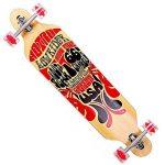 funtomia® Longboard Skateboard skaten Cruiser Longboard complet avec Mach1® High Speed outil de roulement T de la marque FunTomia image 6 produit