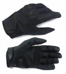 Gants Moto été SQUARE V Homme Noir de la marque Mitsou image 0 produit