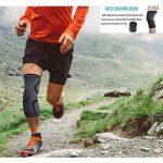 genou manches genou de compression Brace manches pour homme et femme–Sports Support Course à Pied, basket-ball, crossfit, gym, d'haltérophilie, haltérophilie, cyclisme–Améliore la circulation sanguine la guérison, aider l'arthrite et les douleurs arti image 1 produit