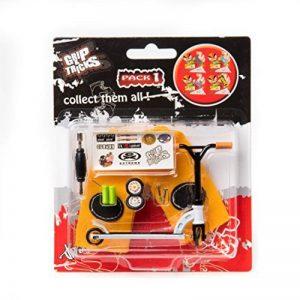Grip & Tricks - Finger SCOOTER - Mini Trottinette - Pack1 - Dimensions: 14 X 13,5 X 2 cm de la marque Grip&Tricks image 0 produit