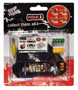 Grip & Tricks - Finger SKATE - Mini Skate M7 - Skate - Pack1 - Dimensions: 13 X 13 X 2 cm de la marque Grip&Tricks image 0 produit
